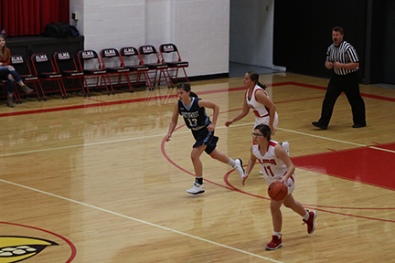 Lady Cardinals Blowout Red Cloud