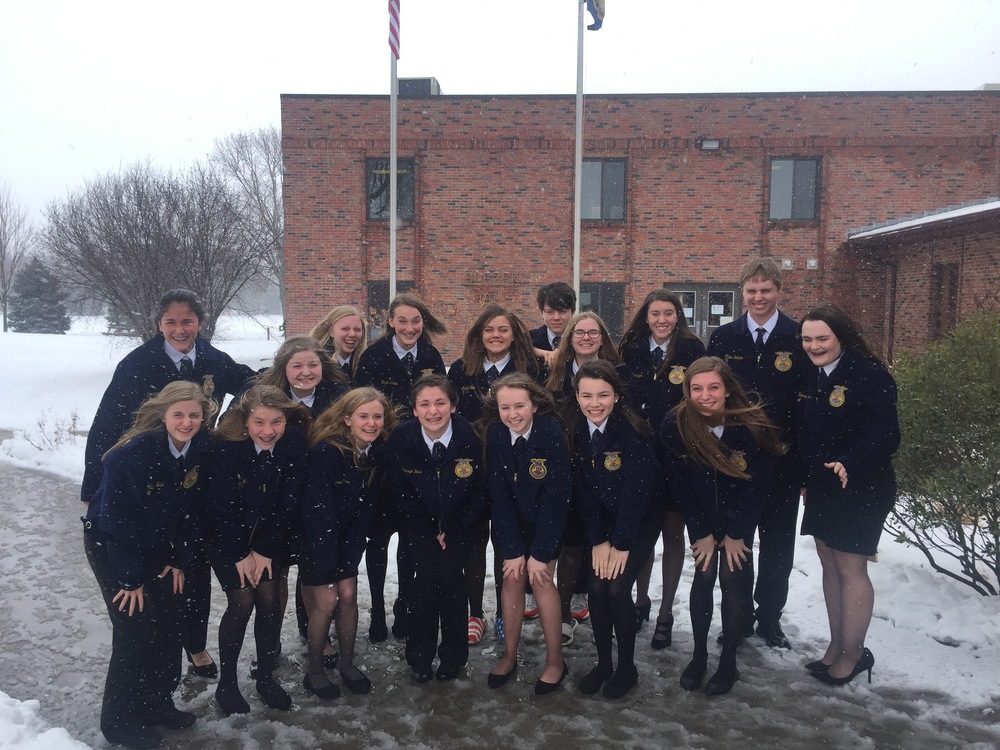 FFA Qualifies Three to State