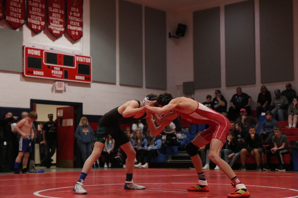Red Cloud Wrestlers Take 2nd