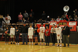 Seniors Honored and NHS Wins Food Drive