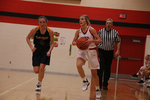 Lady Cardinals Comeback to Beat the Raiders