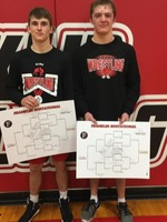 Two Wrestlers Claim Gold at Franklin