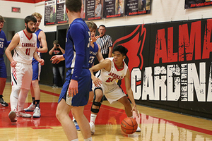 Alma Boys Basketball Outplayed Medicine Valley