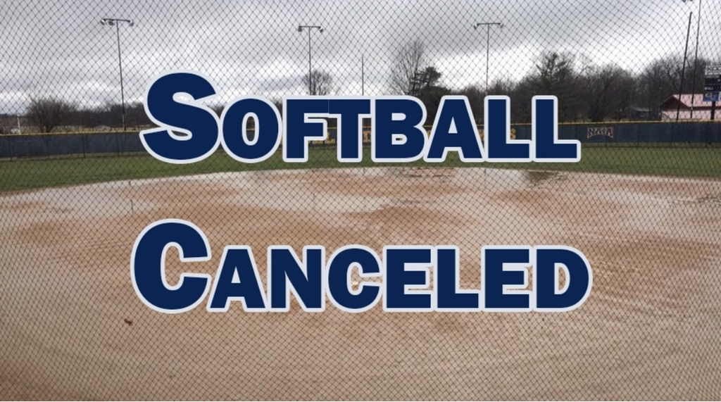 Softball cancelled