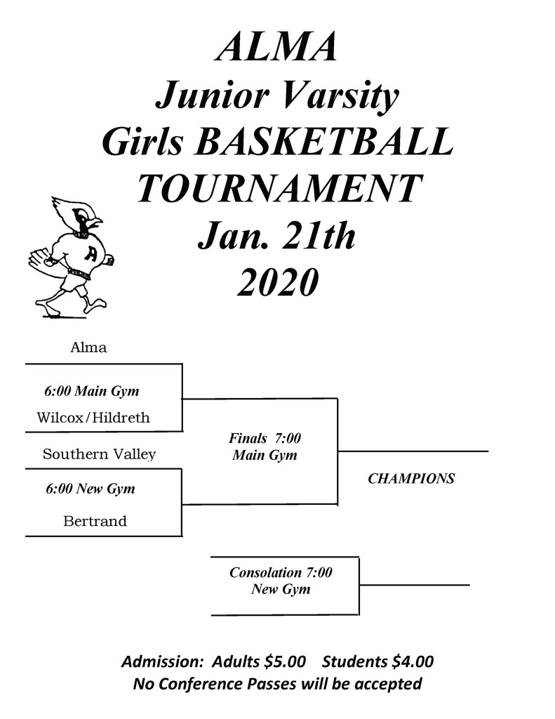 Girls JV Bracket